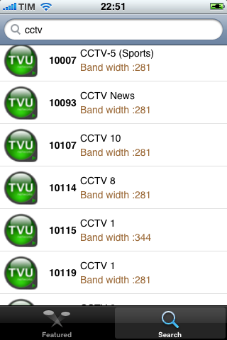 TVUPlayer iPhone CCTV