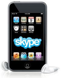 Skype iPod Touch Microfono